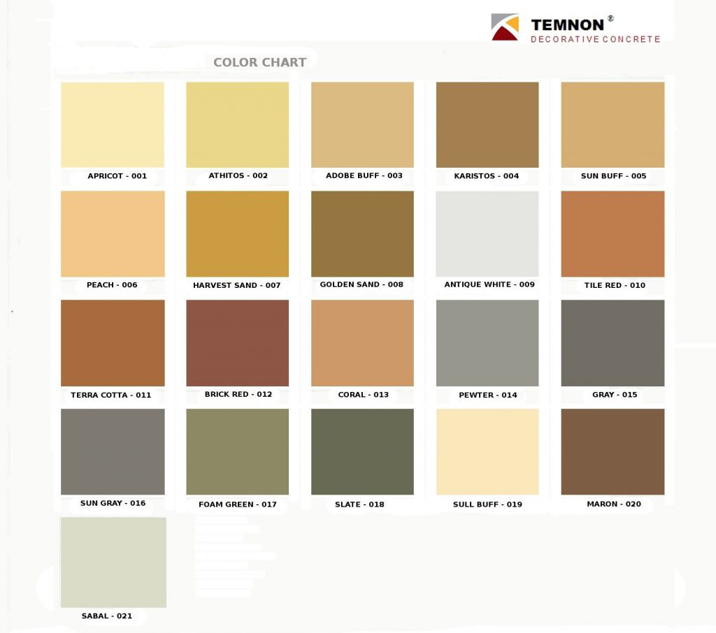 Colors temnon geenschuldenfo Choice Image